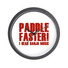 Paddle Faster ! Wall Clock