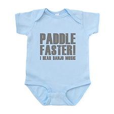 Paddle Faster ! Onesie