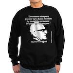Murray N. Rothbard - Government Sweatshirt (dark)