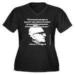 Murray N. Rothbard - Government Women's Plus Size