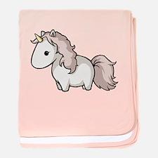 Pink Unicorn - Baby Blanket