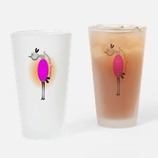 respiratory therapist bird PINK.PNG Drinking Glass