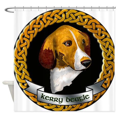Irish Kerry Beagle Shower Curtain