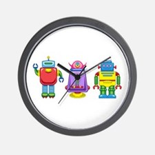 Buy Me 3 Retro Robots Wall Clock