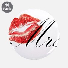 """Mrs Lips.png 3.5"""" Button (10 pack)"""