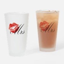 Mrs Lips.png Drinking Glass
