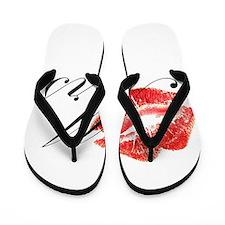 Mrs Lips.png Flip Flops