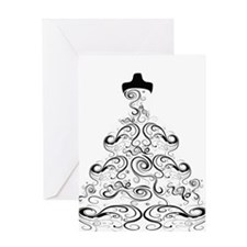 Wedding Dress.png Greeting Card