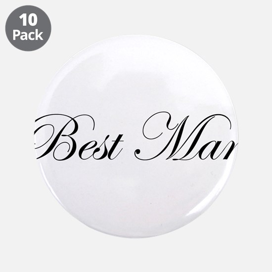 "Best Man.png 3.5"" Button (10 pack)"