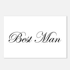 Best Man.png Postcards (Package of 8)