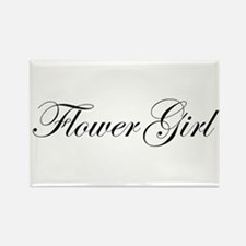 Flower Girl.png Rectangle Magnet