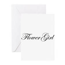Flower Girl.png Greeting Cards (Pk of 20)