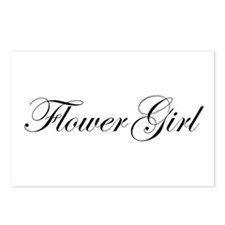 Flower Girl.png Postcards (Package of 8)