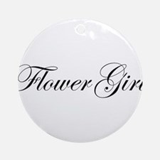 Flower Girl.png Ornament (Round)