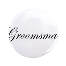 """Groomsman.png 3.5"""" Button"""