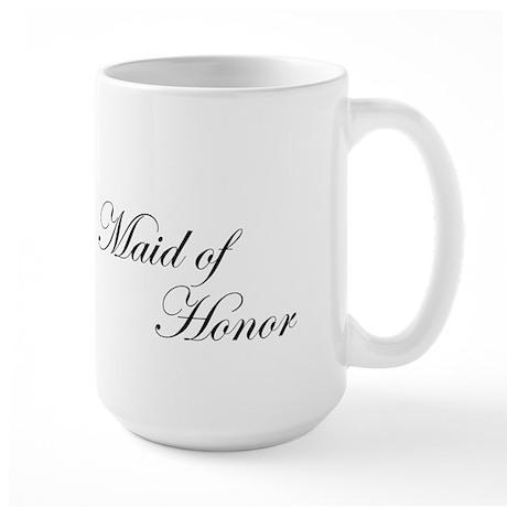 Maid of Honor.png Large Mug