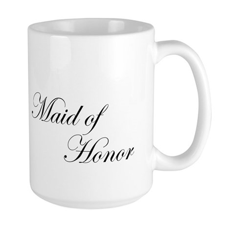 Maid of Honor.png Large Mug