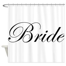Bride.png Shower Curtain