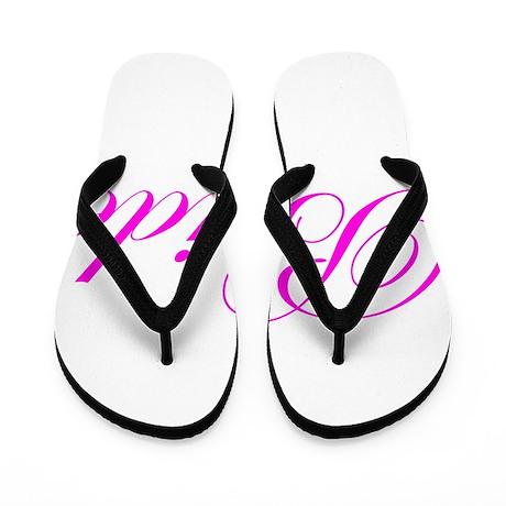 Bride-Pink.png Flip Flops