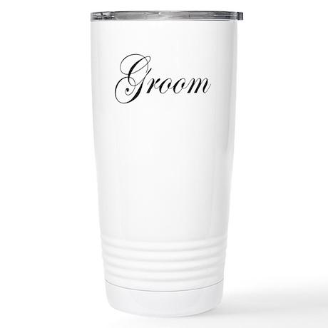 Groom.png Stainless Steel Travel Mug