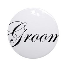 Groom.png Ornament (Round)