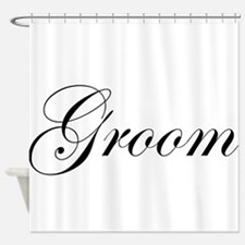 Groom.png Shower Curtain