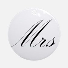 Mrs.png Ornament (Round)