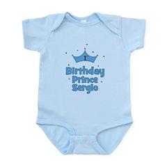 1st Birthday Prince Sergio Infant Bodysuit