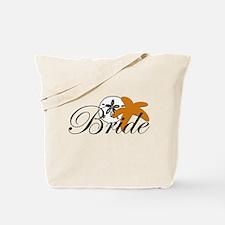 Sand Dollar Starfish Bride.png Tote Bag
