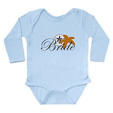 Sand Dollar Starfish Bride.png Long Sleeve Infant