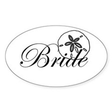 Sand Dollar Bride.png Decal