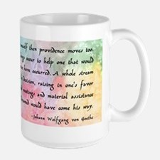Inspirational Goethe Quote Mug