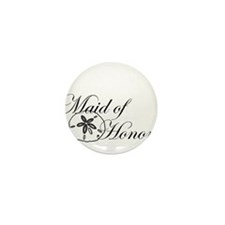Sand Dollar Made of Honor.png Mini Button (10 pack