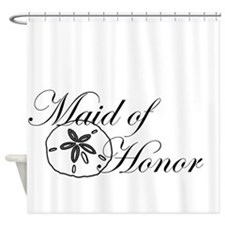 Sand Dollar Made of Honor.png Shower Curtain