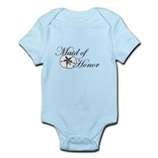 Sand Dollar Made of Honor.png Infant Bodysuit
