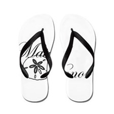 Sand Dollar Made of Honor.png Flip Flops