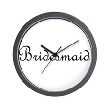 Bridesmaid.png Wall Clock