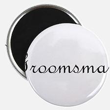 """Groomsman.png 2.25"""" Magnet (10 pack)"""