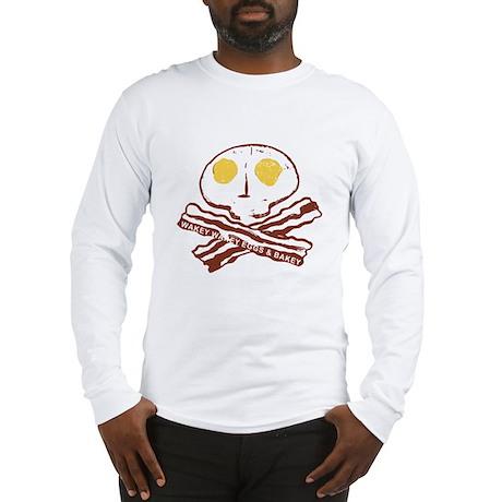 Bacon Eggs Long Sleeve T-Shirt