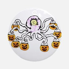 Trick or Treat Ornament (Round)