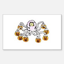 Trick or Treat Rectangle Decal