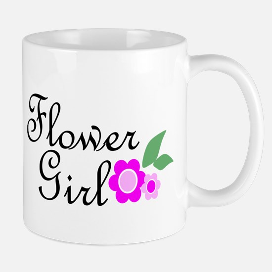 Pink Daisy Flower Girl.png Mug