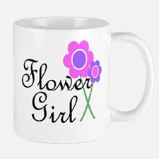 Purple Daisy Flower Girl.png Mug