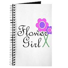 Purple Daisy Flower Girl.png Journal