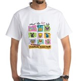Adopt a cat Mens White T-shirts