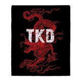 Tae kwon do Fleece Blankets