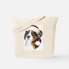 Santa Berner Tote Bag