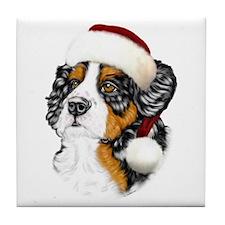 Santa Berner Tile Coaster