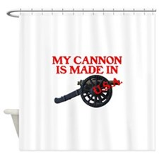 CANNON MY CANNON IS MADE IN U.S.A..psd Shower Curt