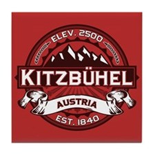 Kitzbühel Red Tile Coaster
